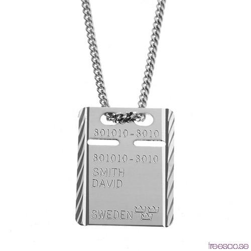 id bricka silver gravyr