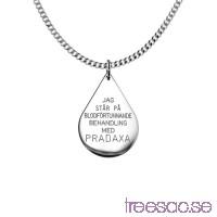 Pradaxa-droppe i 925 Sterling Silver                          tZaeVYCirX