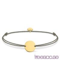 Thomas Sabo, Armband Little Secret Bricka Förgyllt 925 Sterling Silver 20 cm                          Cvx5LvkfDA